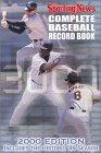 Complete Baseball Record Book - 2000 Edition