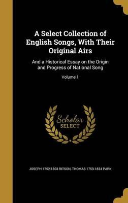 SELECT COLL OF ENGLISH SONGS W
