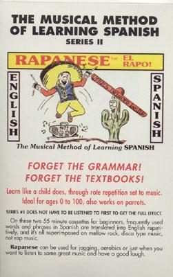 The Musical Method of Learning Spanish