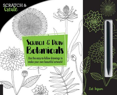 Scratch & Draw Botanicals