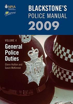 Blackstone's Police Manual Volume 4