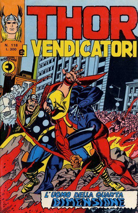 Thor e i Vendicatori (Il Mitico Thor) n. 118
