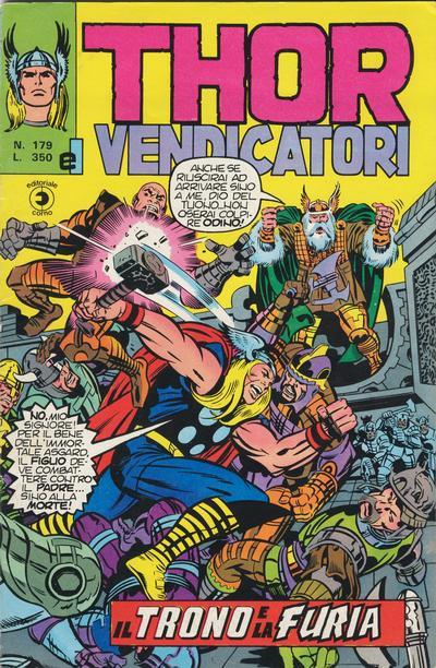 Thor e i Vendicatori (Il Mitico Thor) n. 179