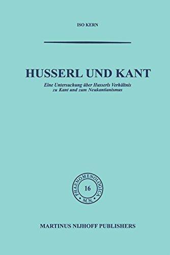 Husserl und Kant