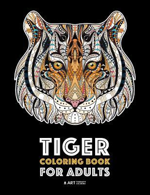 Tiger Coloring Book for Adults