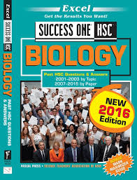 Biology: Past HSC Questions & Answers, 2001-2003 by Topic, 2007-2015 by Paper