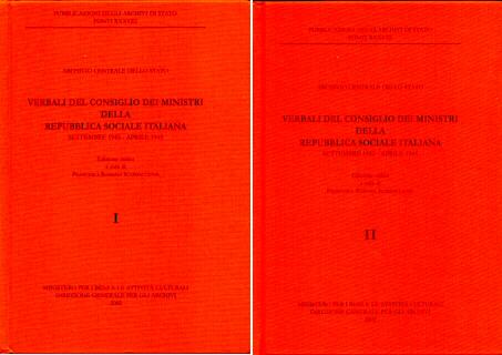 Verbali del Consiglio dei Ministri della Repubblica sociale italiana