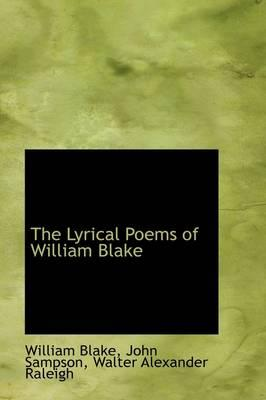 The Lyrical Poems of William Blake