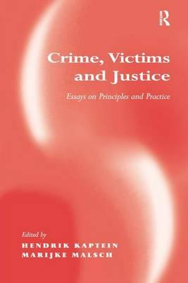 Crime, Victims and Justice