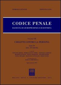 Codice penale. Rassegna di giurisprudenza e di dottrina