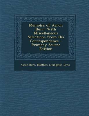 Memoirs of Aaron Burr