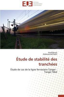 Etude de Stabilite des Tranchees
