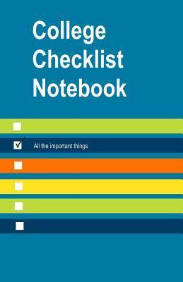 College Checklist Notebook