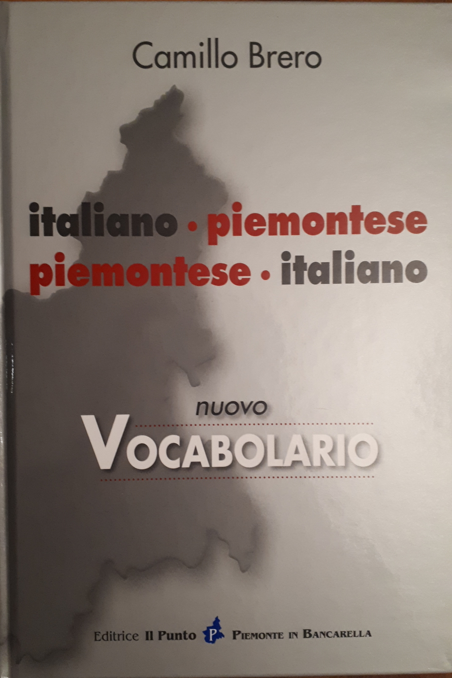 Vocabolario italiano-piemontese, piemontese-italiano