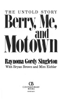 Berry, me, and Motown