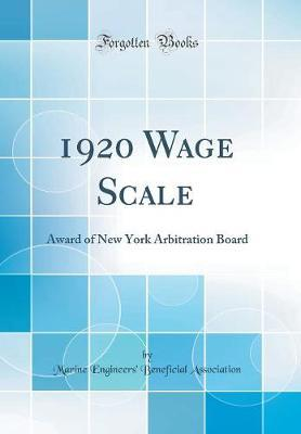 1920 Wage Scale