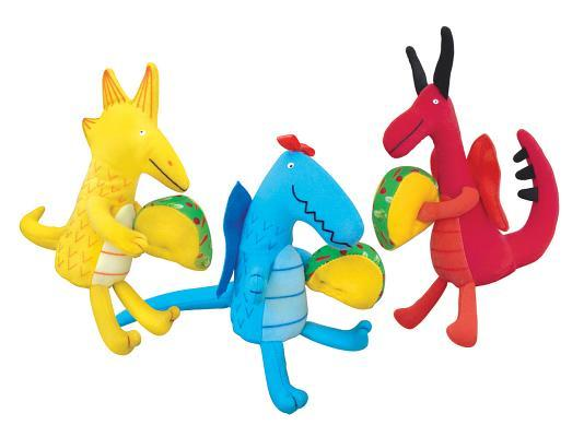 Dragons Love Tacos, Mini Doll Set