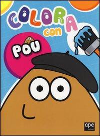 Colora con Pou. Ediz. illustrata