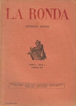 La Ronda. Anno I, n. 1 (aprile 1919)