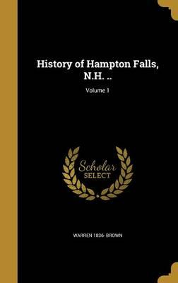 HIST OF HAMPTON FALLS NH V01