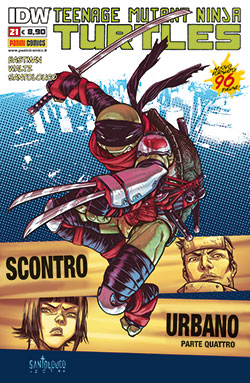 Teenage Mutant Ninja Turtles n. 21