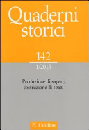 Quaderni storici n. 142 (1/2013)