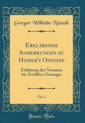 Erklärende Anmerkungen zu Homer's Odyssee, Vol. 3