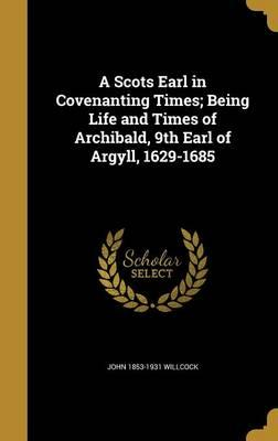 SCOTS EARL IN COVENANTING TIME