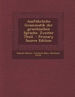 Ausfuhrliche Grammat...