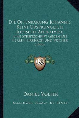 Die Offenbarung Johannis Keine Ursprunglich Judische Apokalypse