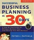 Successful Business Planning in 30 Days