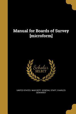 MANUAL FOR BOARDS OF SURVEY MI