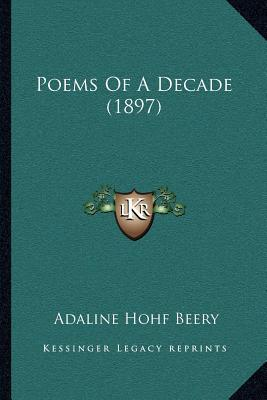 Poems of a Decade (1897)