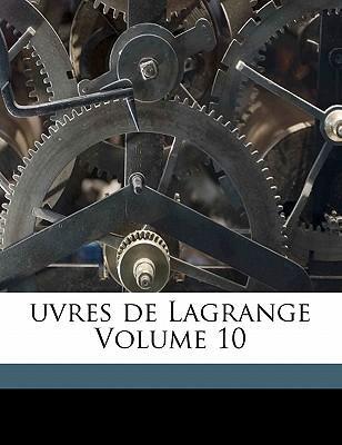 Uvres de Lagrange Vo...
