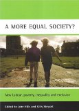 A more equal society...