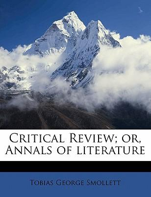Critical Review; Or, Annals of Literature
