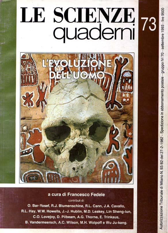 Le Scienze Quaderni No 73