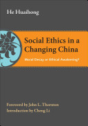 Social Ethics in a Changing China