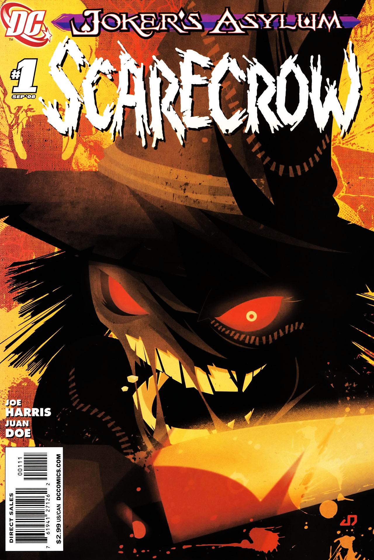 Joker's Asylum: Scarecrow Vol.1 #1