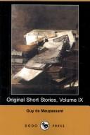 Original Short Stories, Volume IX