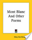 Mont Blanc and Other Poems