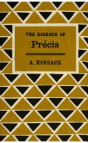 The Essence of Précis