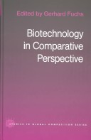 Biotechnology in Comparative Perspective