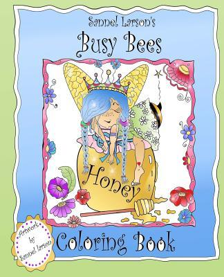 Busy Bees Coloring Book