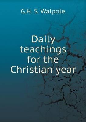 Daily Teachings for the Christian Year