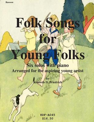 Folk Songs for Young Folks - Bassoon and Piano