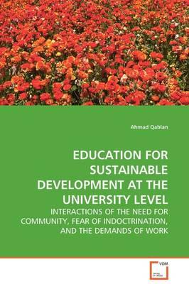 Education for Sustainable Development at the University Level