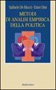 Metodi di analisi empirica della politica