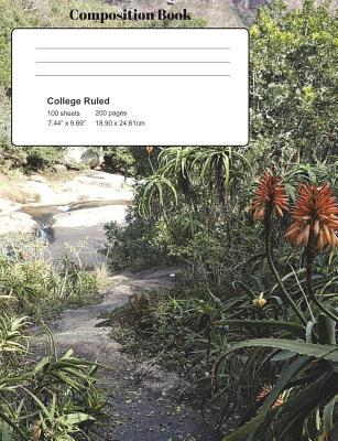 Aloe Trail Composition Notebook, College Ruled