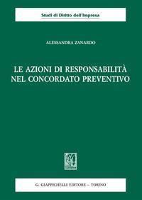 Le azioni di responsabilità nel concordato preventivo